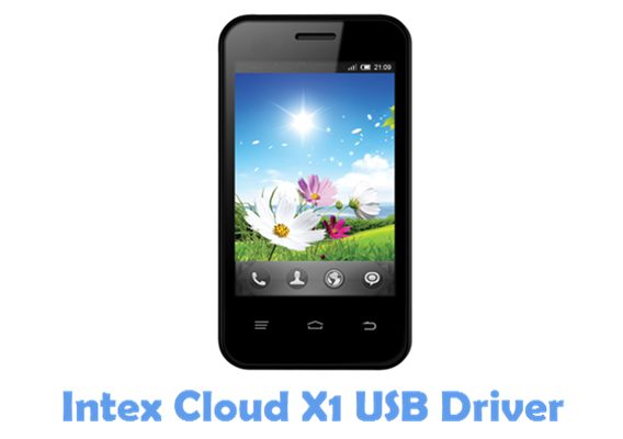 Download Intex Cloud X1 USB Driver