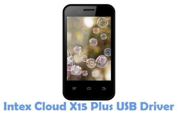 Download Intex Cloud X15 Plus USB Driver