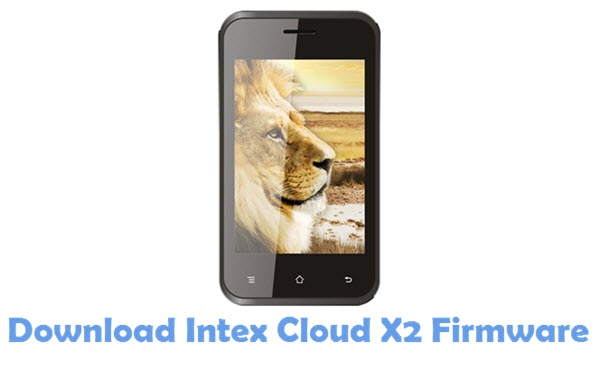 Download Intex Cloud X2 USB Driver