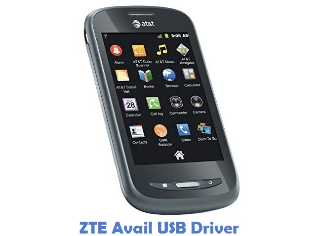 ZTE Avail USB Driver