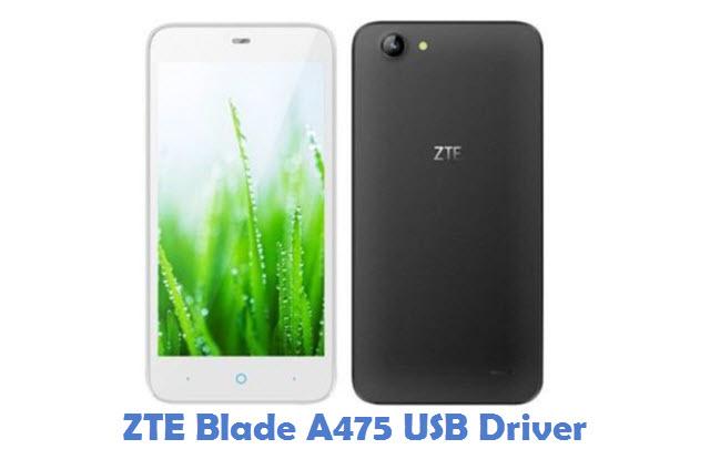 ZTE Blade A475 USB Driver