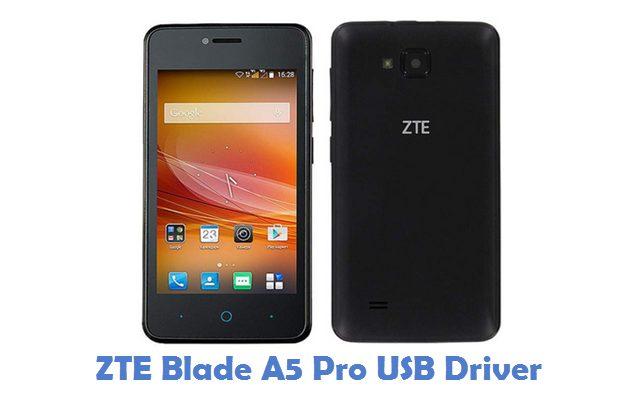 ZTE Blade A5 Pro USB Driver