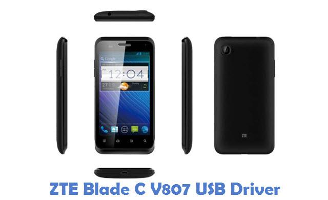 ZTE Blade C V807 USB Driver