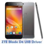 ZTE Blade D6 USB Driver
