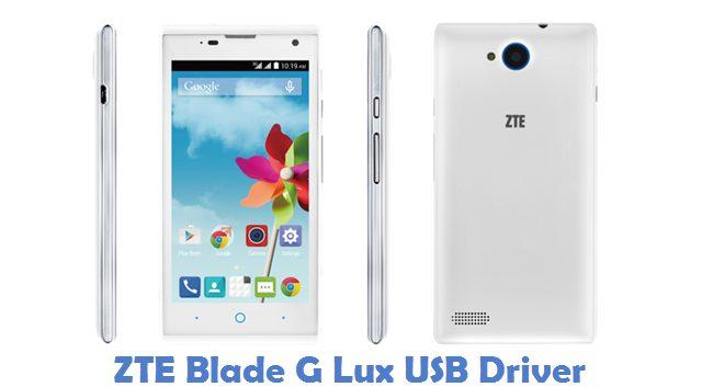 ZTE Blade G Lux USB Driver