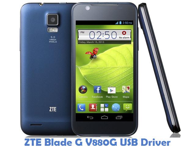 ZTE Blade G V880G USB Driver