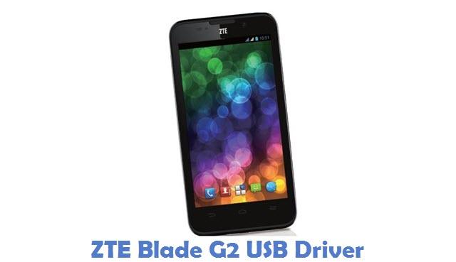 ZTE Blade G2 USB Driver