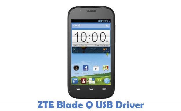 ZTE Blade Q USB Driver