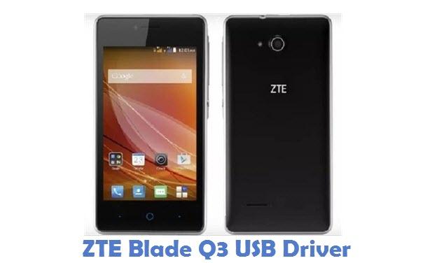 ZTE Blade Q3 USB Driver