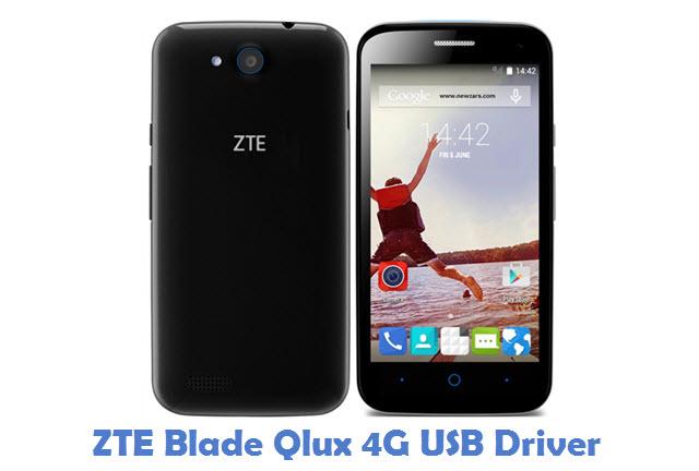 ZTE Blade Qlux 4G USB Driver