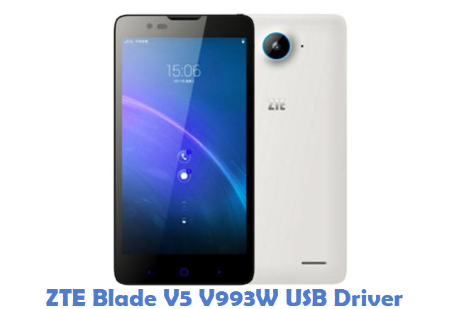 ZTE Blade V5 V993W USB Driver