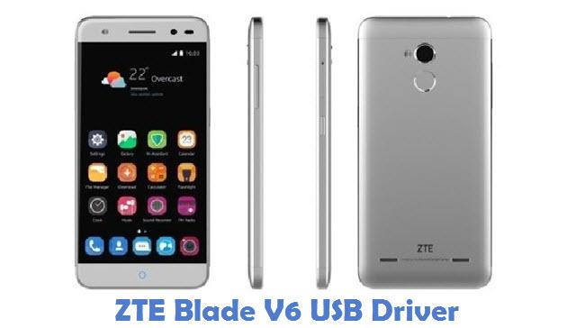 ZTE Blade V6 USB Driver