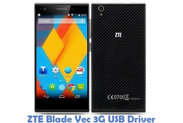 ZTE Blade Vec 3G USB Driver