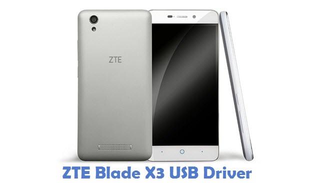 ZTE Blade X3 USB Driver
