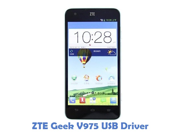 ZTE Geek V975 USB Driver