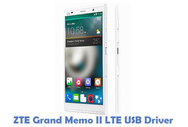 ZTE Grand Memo II LTE USB Driver