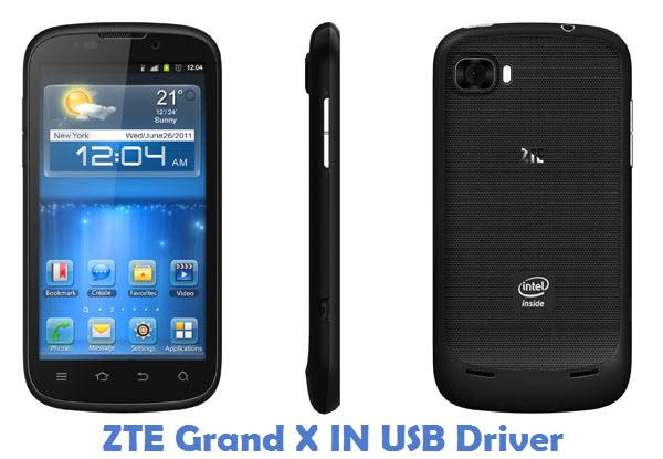 ZTE Grand X IN USB Driver
