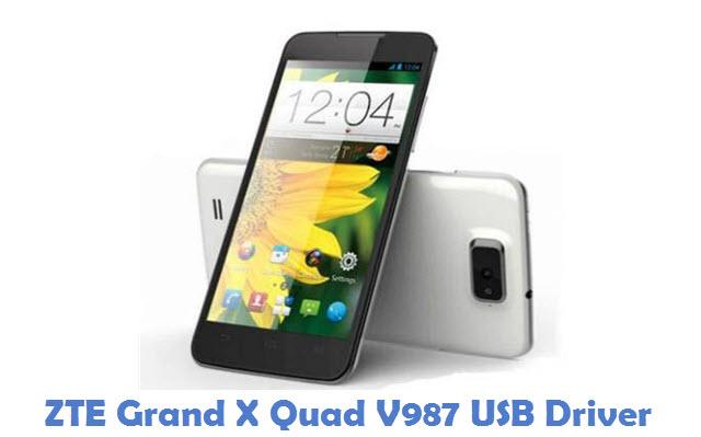 ZTE Grand X Quad V987 USB Driver