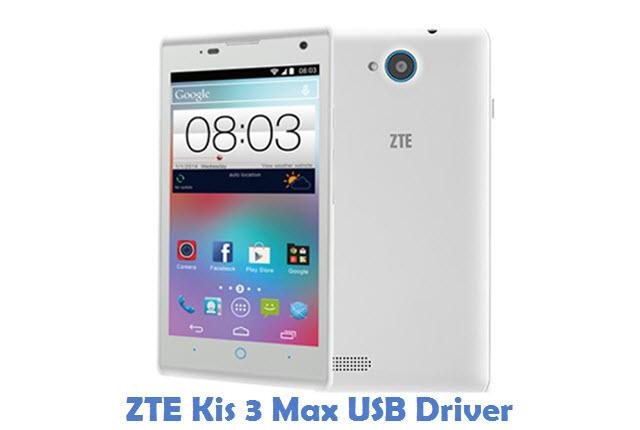 ZTE Kis 3 Max USB Driver