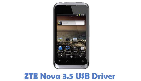 ZTE Nova 3.5 USB Driver
