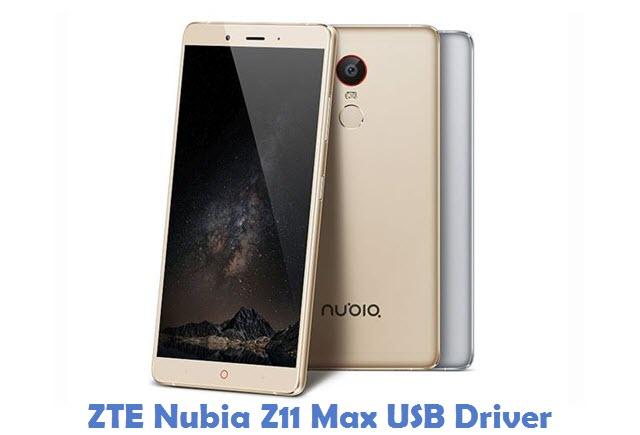 ZTE Nubia Z11 Max USB Driver