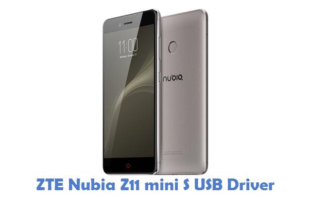 ZTE Nubia Z11 mini S USB Driver