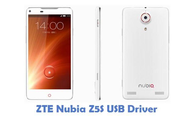 ZTE Nubia Z5S USB Driver