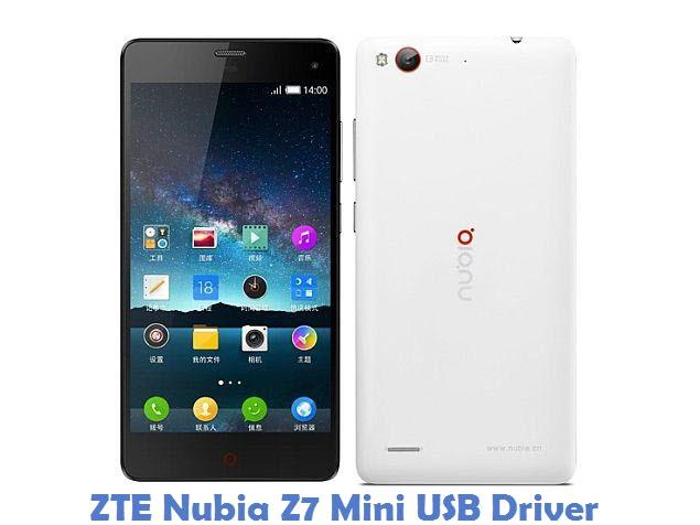 ZTE Nubia Z7 Mini USB Driver