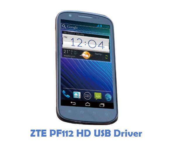 ZTE PF112 HD USB Driver