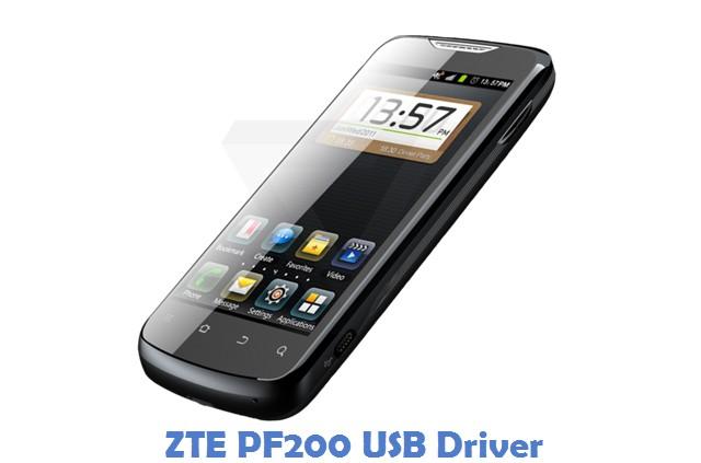 ZTE PF200 USB Driver