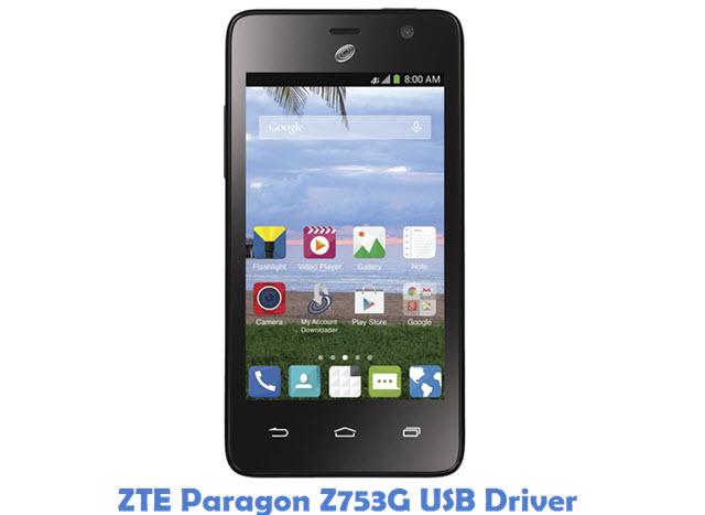 ZTE Paragon Z753G USB Driver