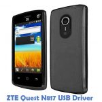 ZTE Quest N817 USB Driver
