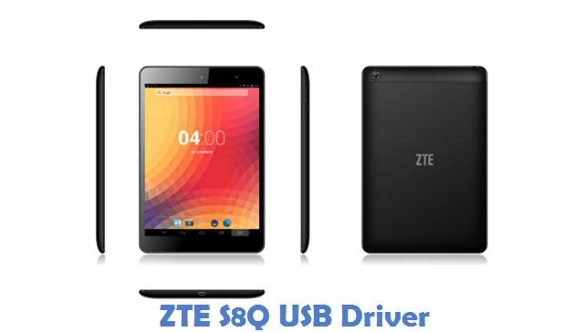 ZTE S8Q USB Driver