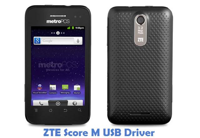 ZTE Score M USB Driver