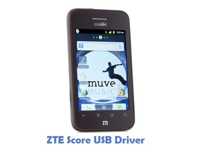 ZTE Score USB Driver