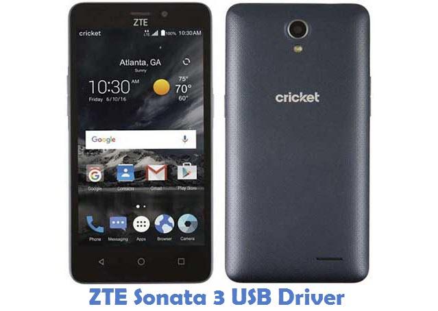 ZTE Sonata 3 USB Driver