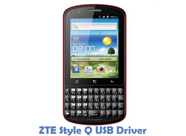 ZTE Style Q USB Driver