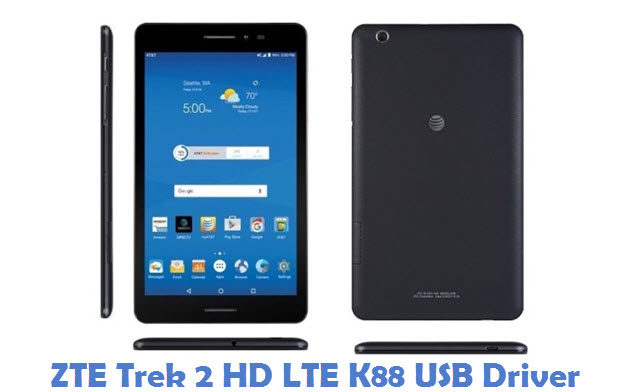 ZTE Trek 2 HD LTE K88 USB Driver