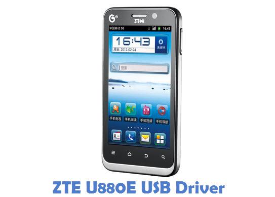 ZTE U880E USB Driver