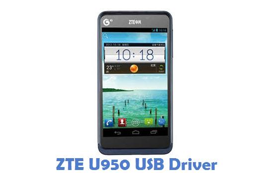 ZTE U950 USB Driver