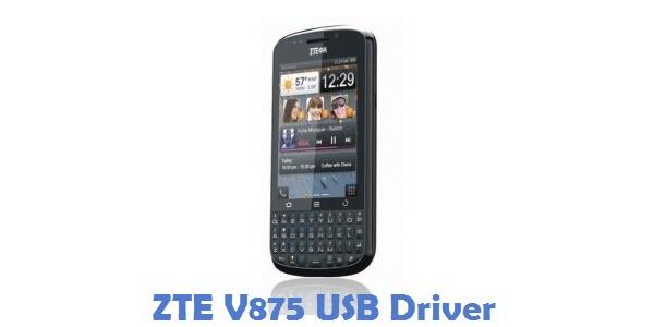 ZTE V875 USB Driver