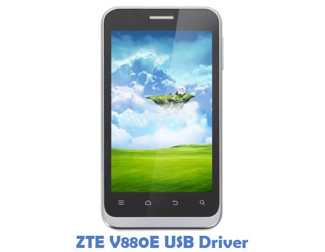 ZTE V880E USB Driver
