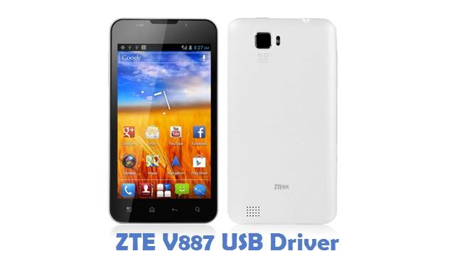 ZTE V887 USB Driver