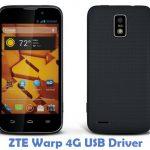 ZTE Warp 4G USB Driver