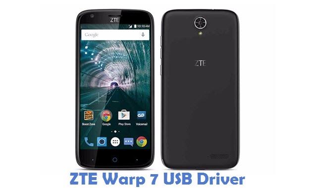 ZTE Warp 7 USB Driver