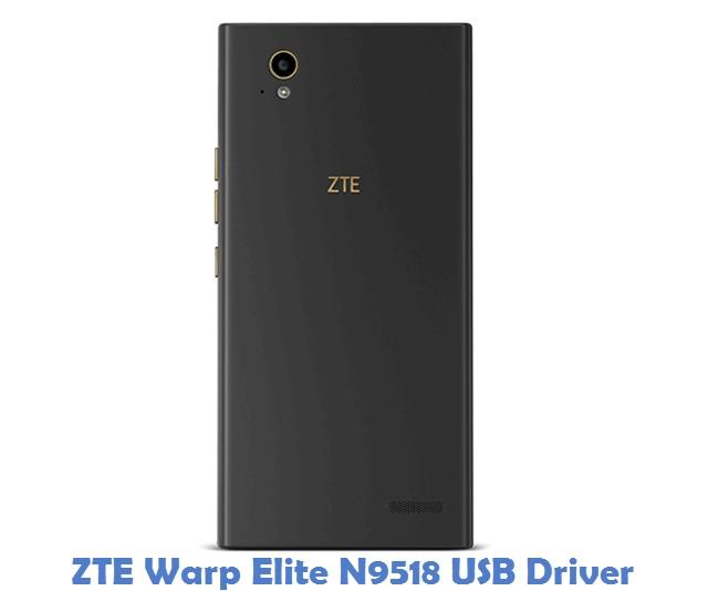 ZTE Warp Elite N9518 USB Driver