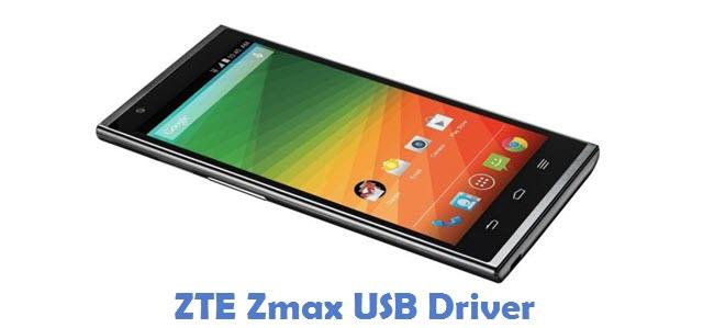 ZTE Zmax USB Driver