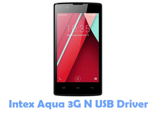 Download Intex Aqua 3G N USB Driver