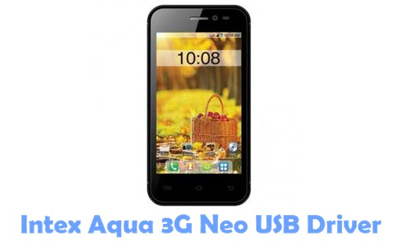 Download Intex Aqua 3G Neo USB Driver