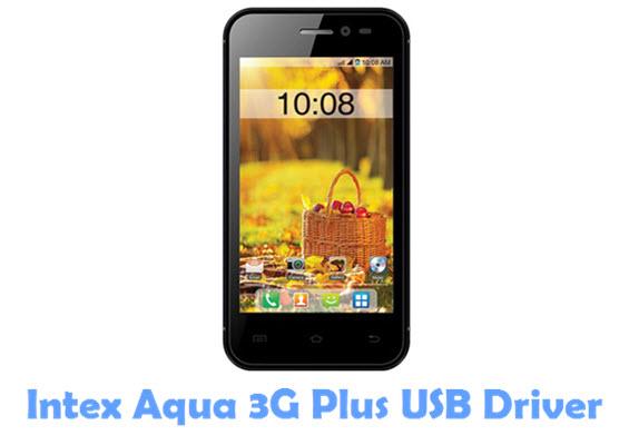 Download Intex Aqua 3G Plus USB Driver